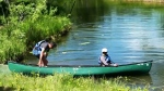 The lessons are free, part of a federal grant program given to Canoe Kayak Canada. Local clubs Rocky Mountain Paddling Centre, Bow Waters Canoe Club and Waterwerks Kayak Club provide a mix of equipment and instructors.