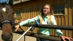Bradi Whiteside hopes to qualify to barrel race in the Calgary Stampede