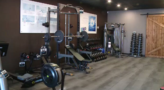 Outdoor Leisure Specialist Jenn Gellner with Simply Home and Leisure talks about their hot tubs and top of the line fitness equipment for the perfect home gym setup.