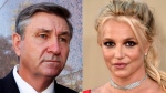 This combination photo shows Britney Spears and her father Jamie Spears. (AP Photo)