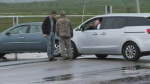 N.S.-N.B. border remains blocked by COVID protest