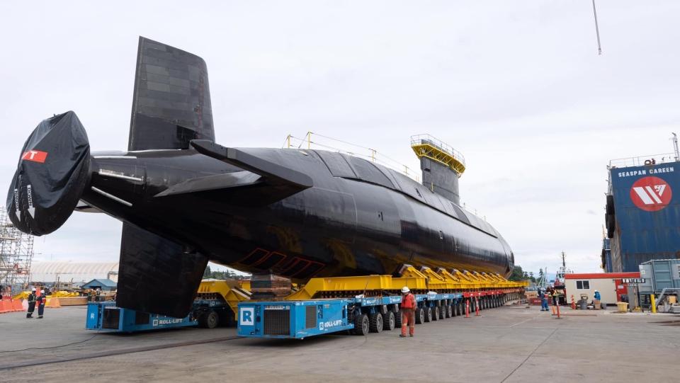 Corner Brook submarine