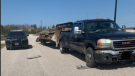 Huronia West OPP conducted a safety blitz of commercial vehicles in Wasaga Beach on June 22, 2021 (OPP/Supplied)