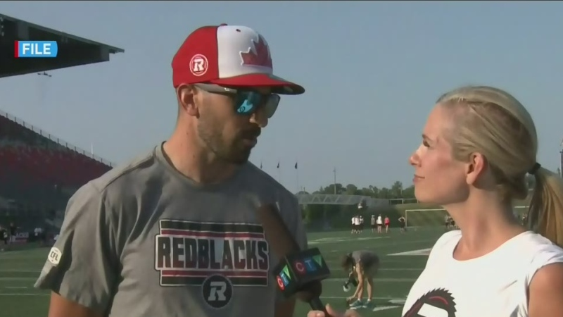 Redblacks receiver Brad Sinopoli retires