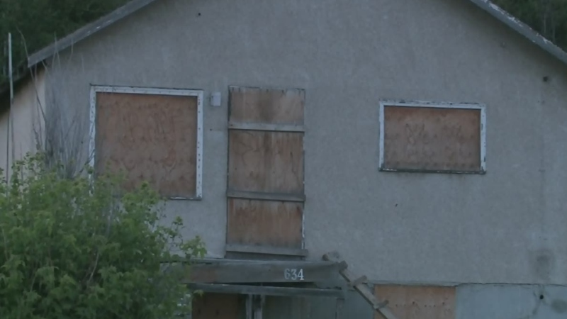 Suspected sudden death at abandoned Sudbury home