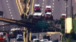 At least six people injured in bridge collapse