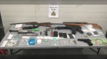 Supplied image of the items seized by RCMP officers.