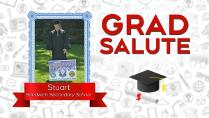 Grad Salute 2021 in Windsor-Essex. (Submitted to CTV Windsor)