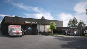 A rendering of the planned Lady Minto Hospital expansion (Lady Minto Hospital Foundation)