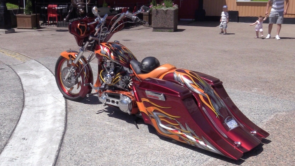Rick DeYoung's motorcycle