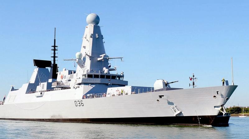 Royal Navy Type 45 Destroyer, HMS Defender. Credit: Royal Navy