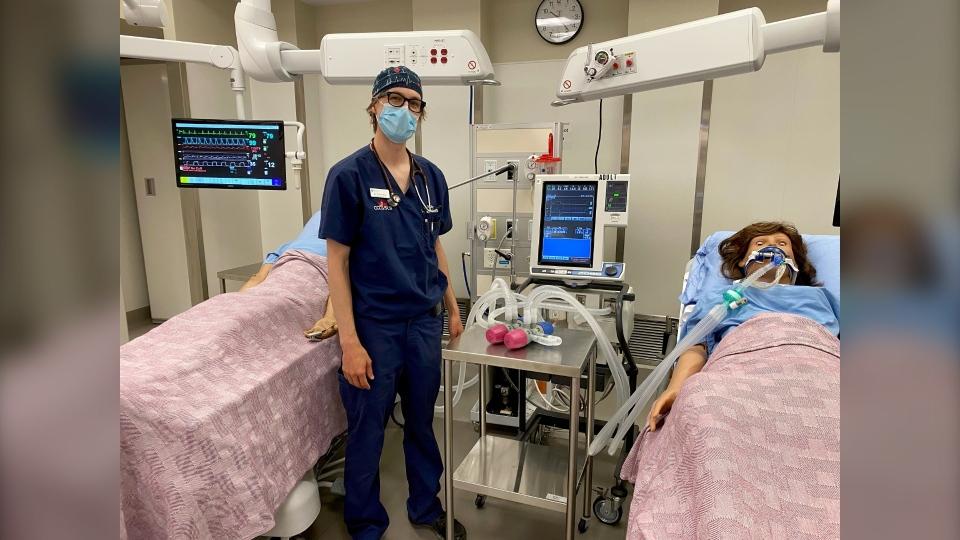 Calgary, ICU, Dr. Steven Roy, ventillator