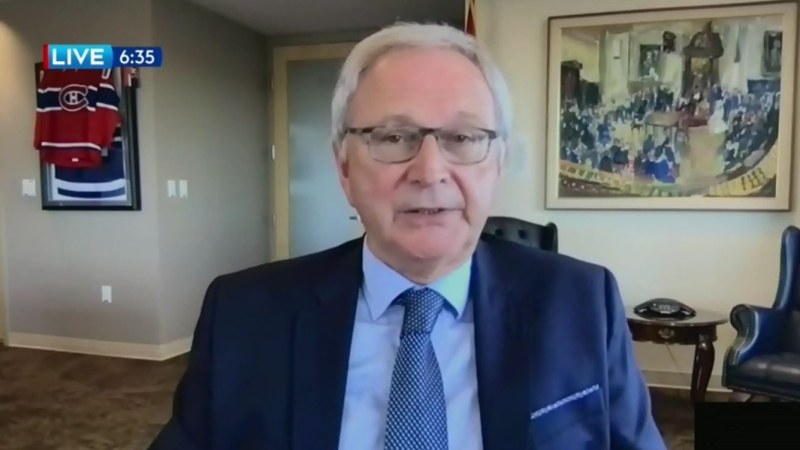 """""""I know he's in a difficult position but we've got to get this border thing sorted out,"""" New Brunswick Premier Blaine Higgs told CTV Atlantic on Wednesday evening."""