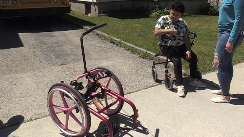 Missing wheelchair found damaged beyond repair