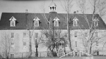 The Marieval (Cowessess) Indian Residential School is seen in this historical image. (St. Boniface Historical Society Archives)