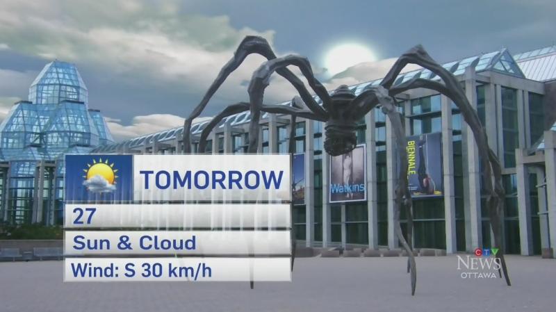 Wednesday 6 p.m. weather update
