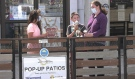 Beginning Friday, more people in the Timmins area can look forward to eating at restaurant patios, as the medical officer of health for the Porcupine Health Unit is lifting restrictions for the majority of its jurisdiction. (Lydia Chubak/CTV News)