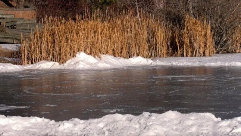 Winnipeg retention pond