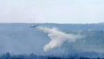 Yellowhead County fire out of control