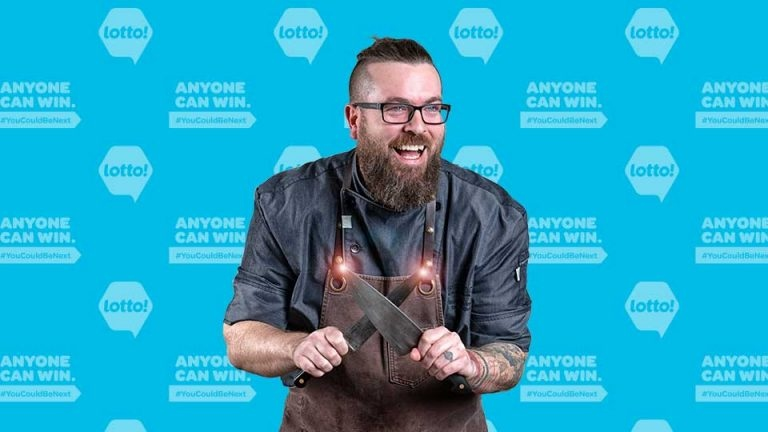 Osoyoos, B.C., chef Murray McDonald won $1 million in the June 2, 2021, Lotto 6/49 draw. (BCLC)