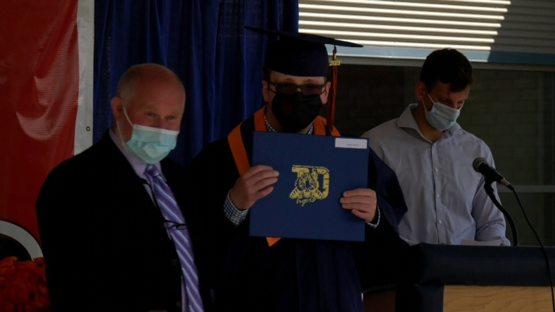 Celebrating graduation in Saskatoon