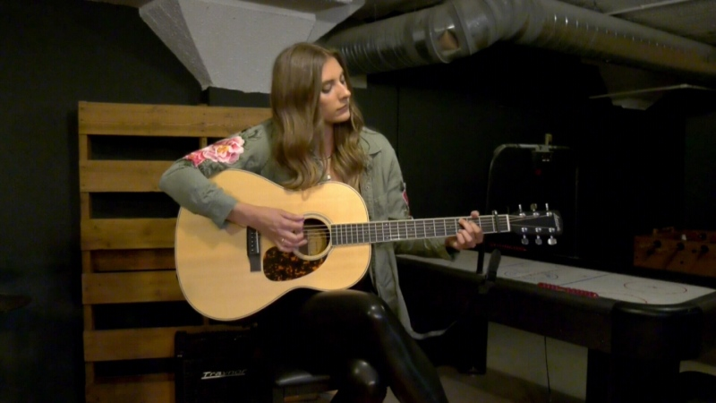 Country musician makes her mark
