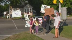 Rally held in Alliston