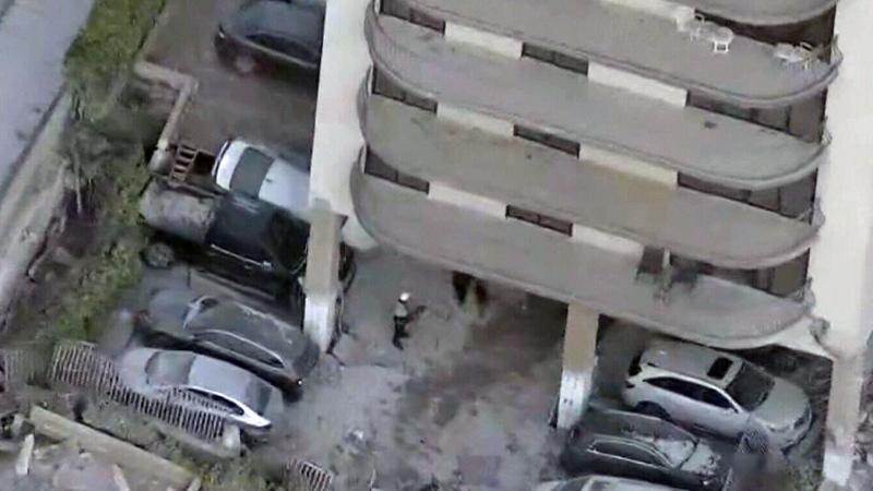 Building collapse in Miami