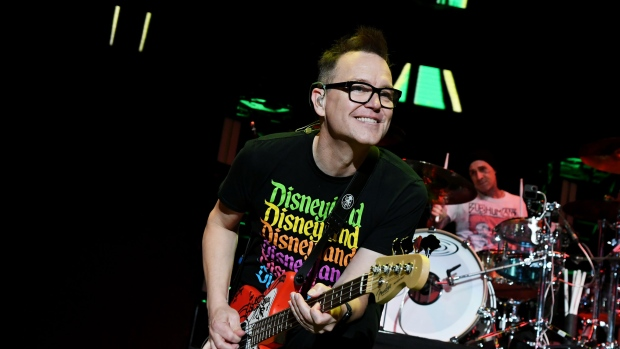 Mark Hoppus revealed he's been undergoing chemotherapy for cancer for three months. (Jeff Kravitz/FilmMagic, Inc/Getty Images)