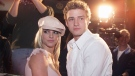 Britney Spears dated Justin Timberlake in the early 2000s. (Kevin Winter/Getty Images)