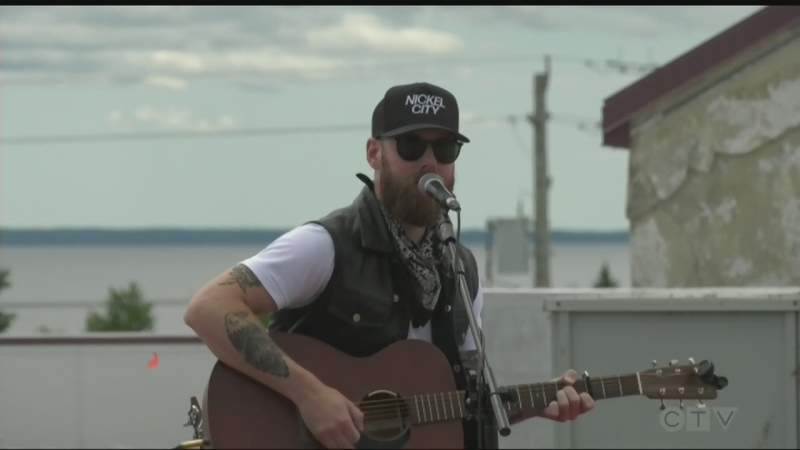 North Bay Capitol Centre featured a rooftop concert by Sudbury country artist Andrew Hyatt with one performance remaining in the series. June 23/21