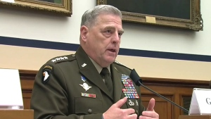 U.S. top military officer General Mark Milley