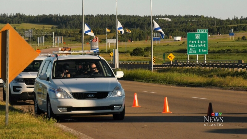 RCMP end COVID-19-related protest on Trans-Canada