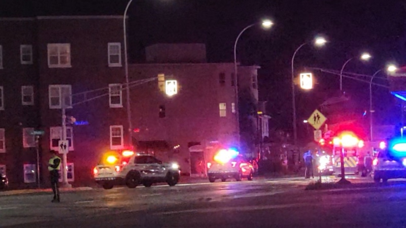 On June 23, 2021, at approximately 11:10 p.m., RCMP responded to a report of a pedestrian struck by a vehicle on Mountain Road near Walsh Street.  (Photo courtesy: Wade Perry)