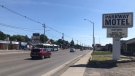 A portion of the Dundas East strip in London, Ont. on Thursday, June 24, 2021. (Sean Irvine / CTV News)