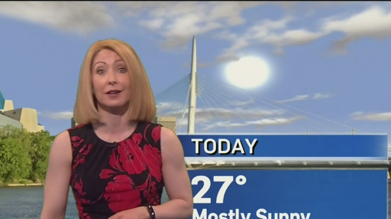 Skywatch weather at noon – June 24