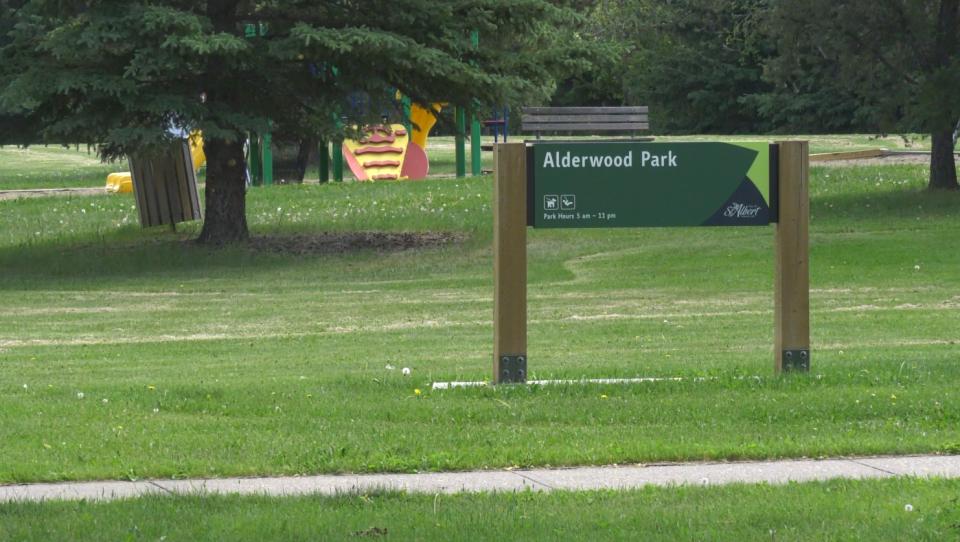 Alderwood Park in St. Albert
