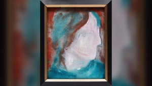 The painting – entitled D Head XLVI -- was found at the Macher Mall in summer 2020. In November, the person who found it (who is remaining anonymous) contacted Cowley Abbott Fine Art, an art auctioneer in Toronto, to find out more information on the painting. (Supplied