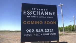 Membertou First Nation will begin its transformation into a new retail district, called Seventh Exchange.
