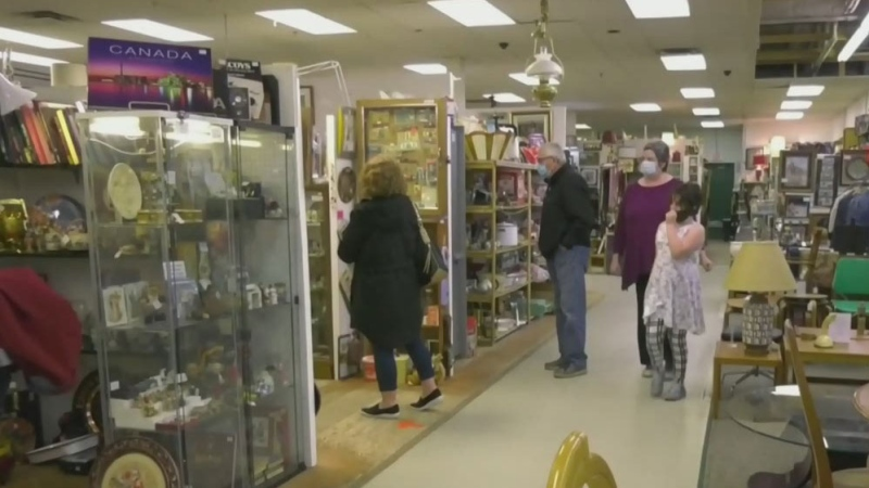 Pandemic holdovers: NB town embraces new normal