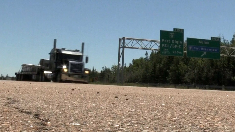 Smoother sailing on N.B. side of border