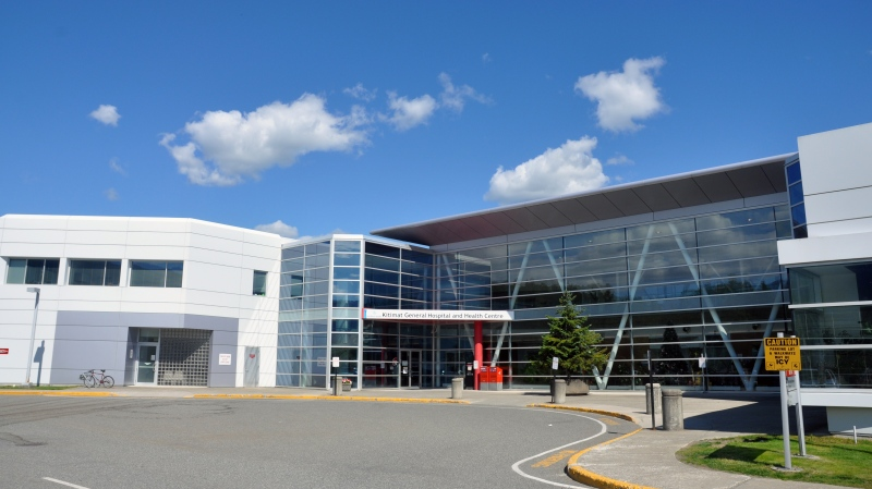 The Kitimat General Hospital is pictured in an image from the District of Kitimat's website, in Kitimat, B.C.