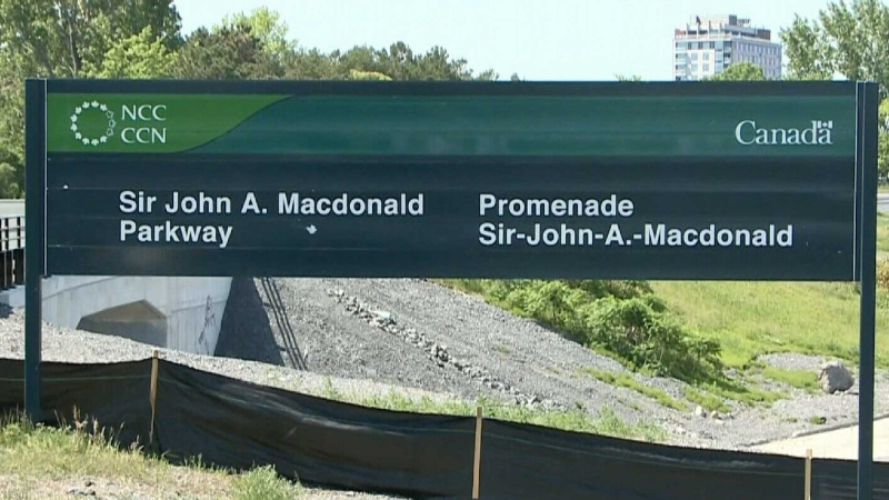 Sir John A's name removed from trail
