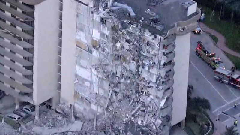 Miami condo collapses