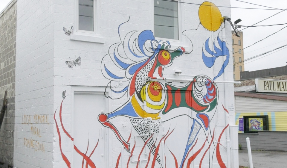 Sault murals