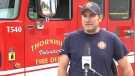 Thornhill Deputy Fire Chief Jonathan Lavigne says people should reach out and help one another if they notice others struggling with the heat. (Photo source: Steve Ross).