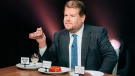 """""""Spill Your Guts or Fill Your Guts,"""" a segment on """"The Late Late Show with James Corden"""" is again being criticized for cultural insensitivity. (CBS Photo Archive/Getty Images/CNN)"""