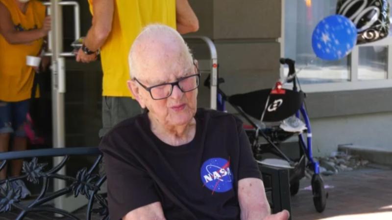 June 24 marks a milestone birthday for Langley senior John Kromhoff: one century on earth. (CTV)