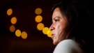 Federal Independent candidate Jody Wilson-Raybould speaks during a campaign event for Independent candidate Jane Philpott in Whitchurch-Stouffville, Ont., Saturday, Sept. 21, 2019. THE CANADIAN PRESS/Cole Burston