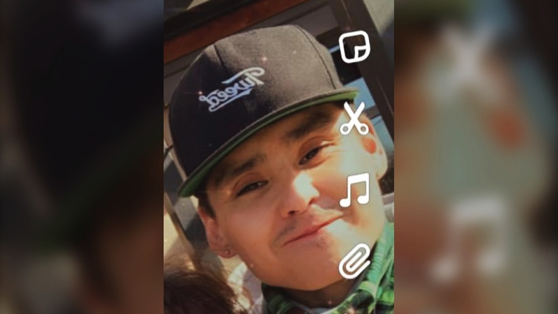 Lane Tail Feathers of Fort Macleod was reported missing by his family on June 20